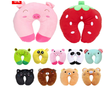 The Colorful Kids Neck Pillow Travel Cushion